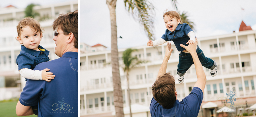 Hotel Del Coronado Family Photographer