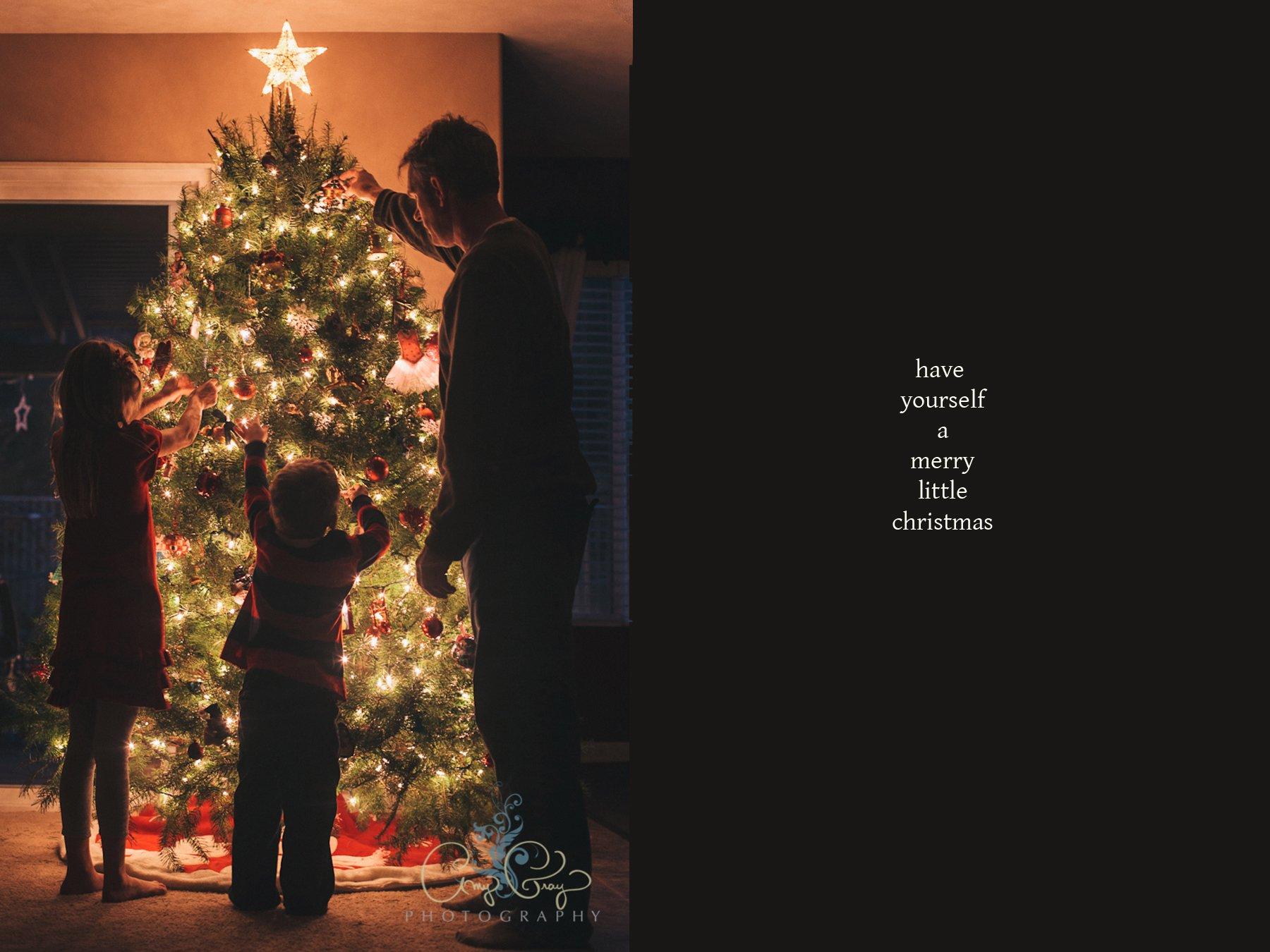 Christmas Tree | San Diego Family Photographer