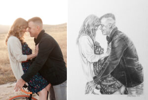 Erin Pezdek's Rendering of Photo by Amy Gray Photography