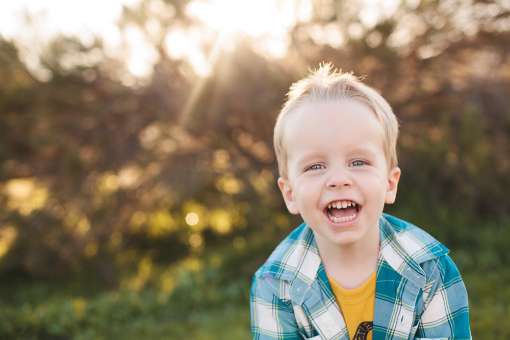 Laughing | San Diego Child Photographer