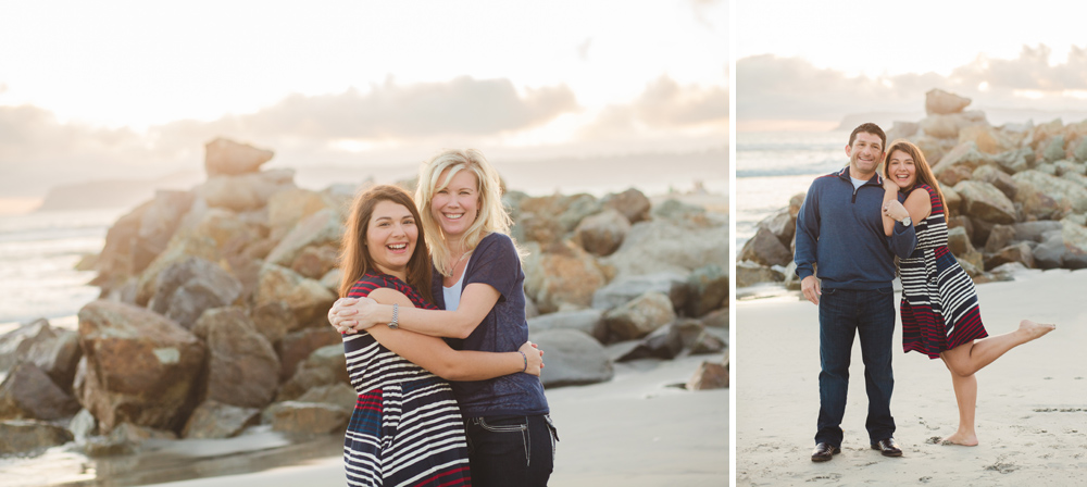 Mother-Daughter and Father-Daughter Photos at the Hotel del Coronado