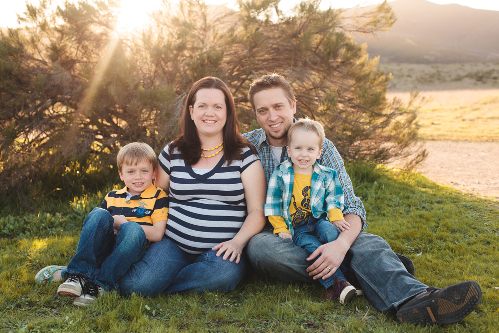 Family of Boys | San Diego Family Photography