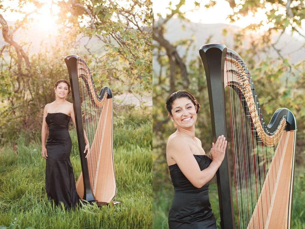 Tasha Smith Godinez | San Diego Harpist