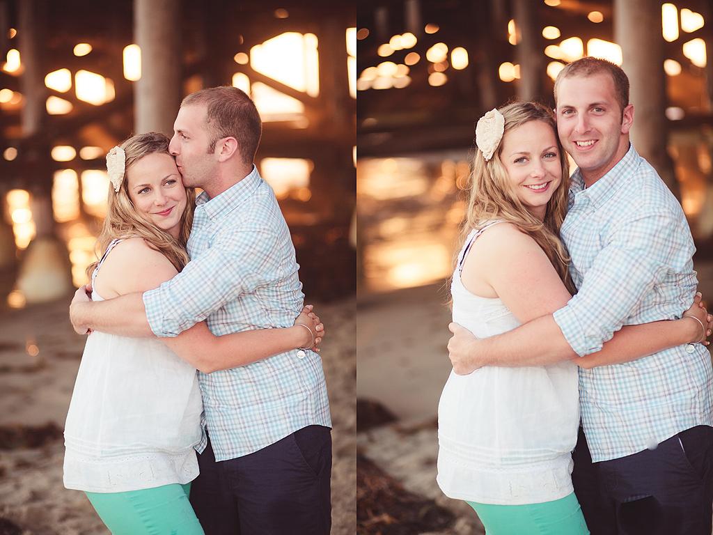 Couple on San Diego Beach