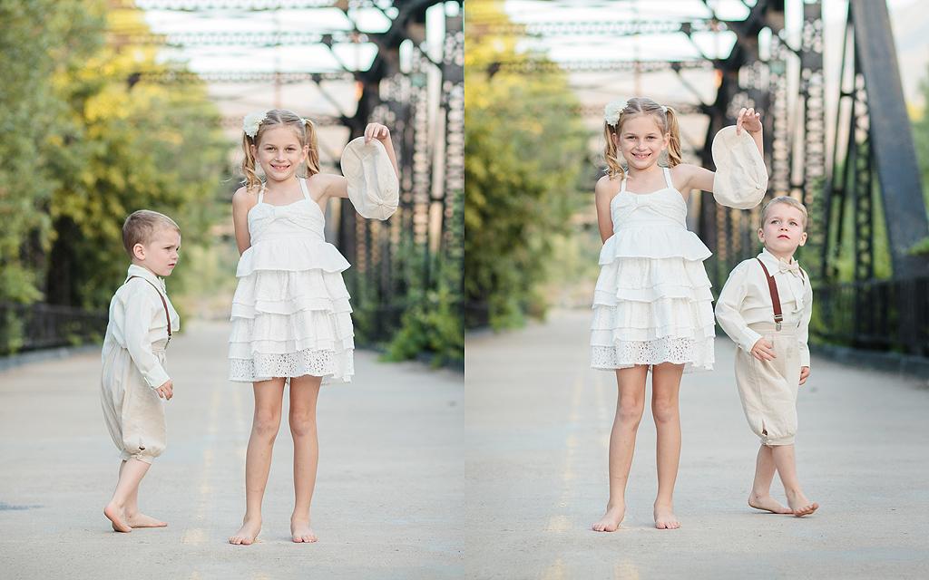 Sibling Rivalry | Cousins | Steele Canyon Bridge Photography | Rancho San Diego Photographer
