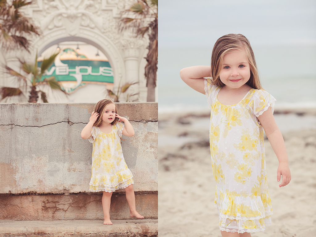 San Diego Child Photography | Mission Beach at Belmont Park