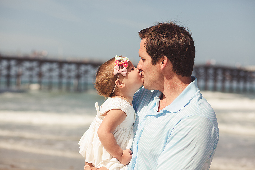 Father & Daughter | San Diego Beach Photography