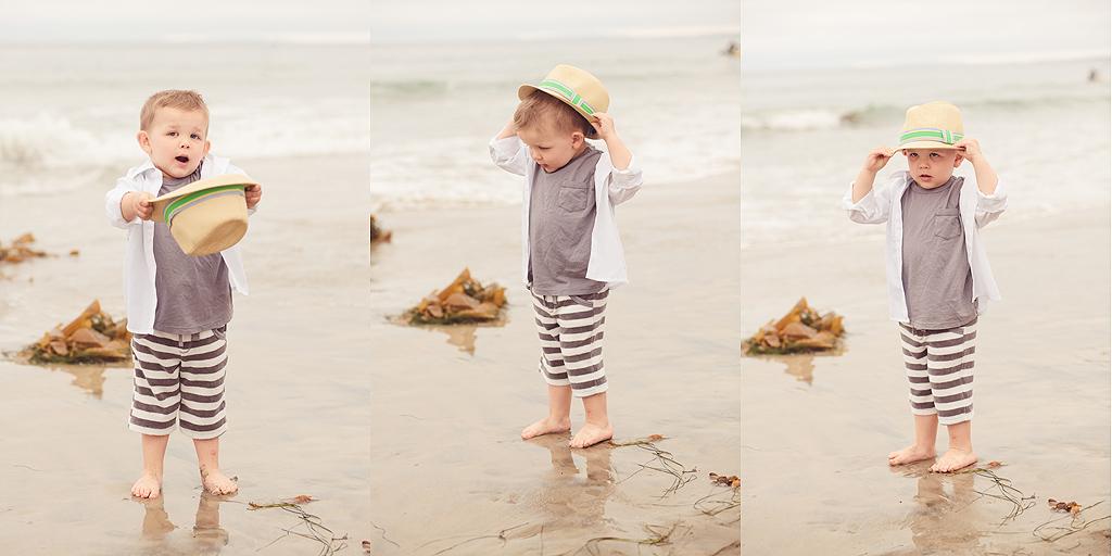 Hat on the beach | San Diego Beach Photography