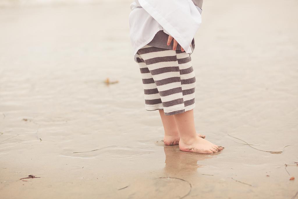 La Jolla Beach Baby Feet | San Diego Beach Photographer
