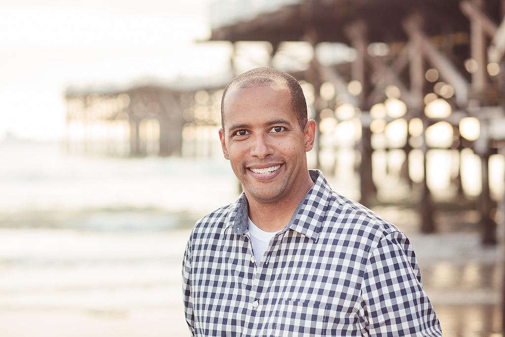 Beach Portraits Headshots | San Diego Beach Photographer