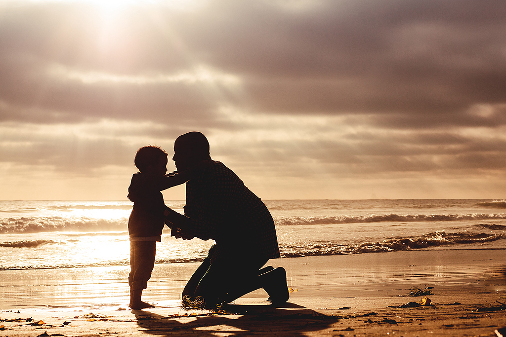 Daddy and Me Session | San Diego Beach Photographer