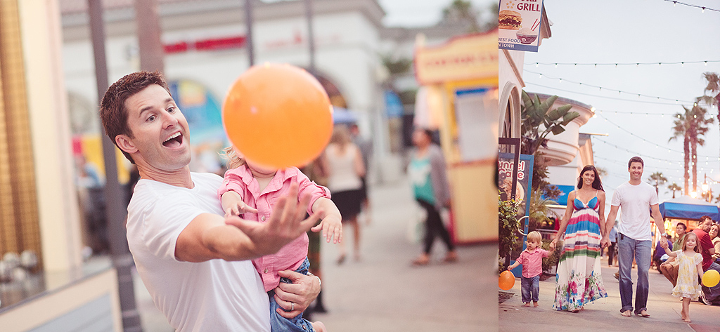 San Diego Family Photography | Mission Beach Belmont Park