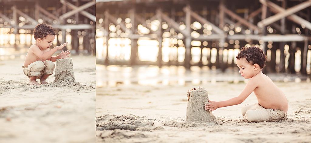 San Diego Sand Castles | San Diego Beach Photographer