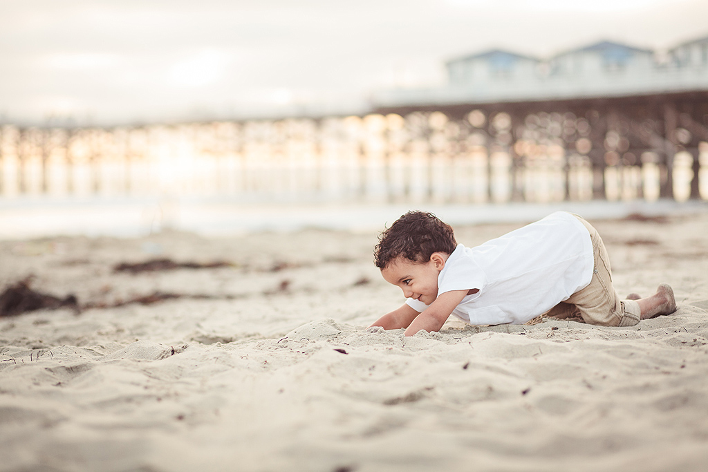 The Important Thing About the Beach is that there is Sand | San Diego Beach Photography