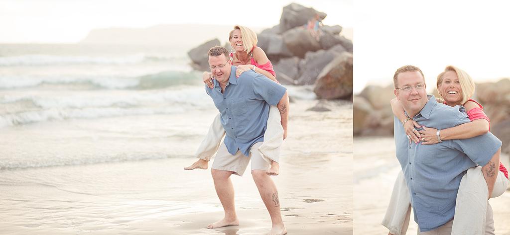 Couple Session on the Beach | San Diego Photographer