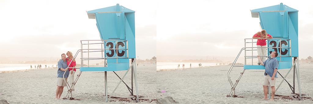 Lifeguard Tower | Coronado Beach Photographer
