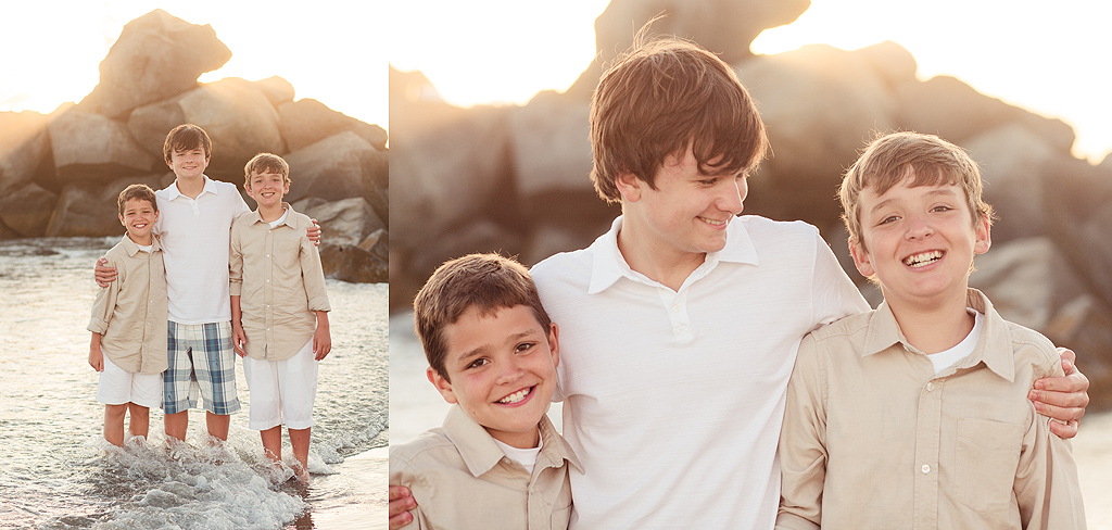 My Three Sons | Hotel del Coronado Photographer