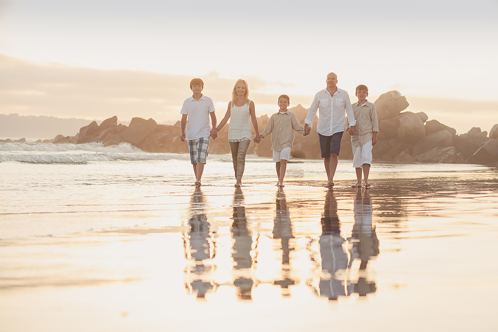 Family Photography at the Hotel del Coronado
