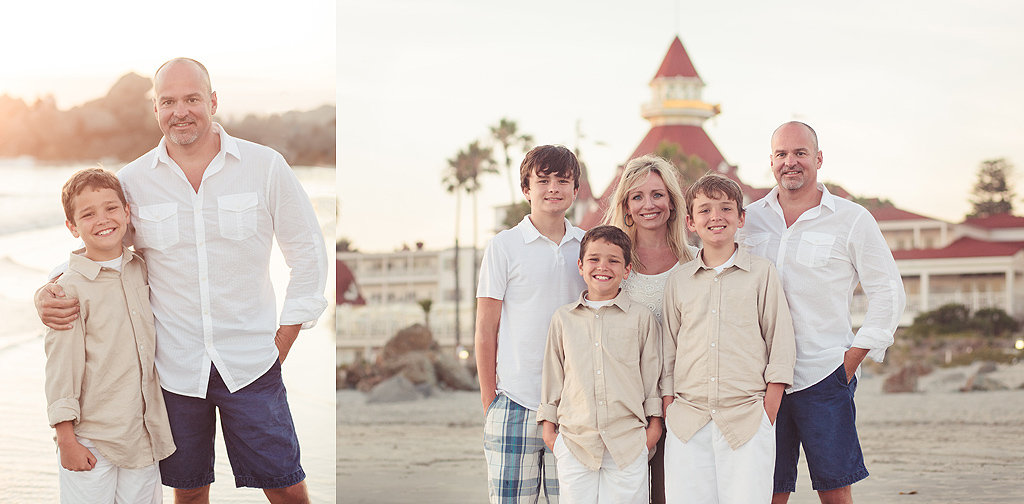 Family Photography at the Hotel del Coronado