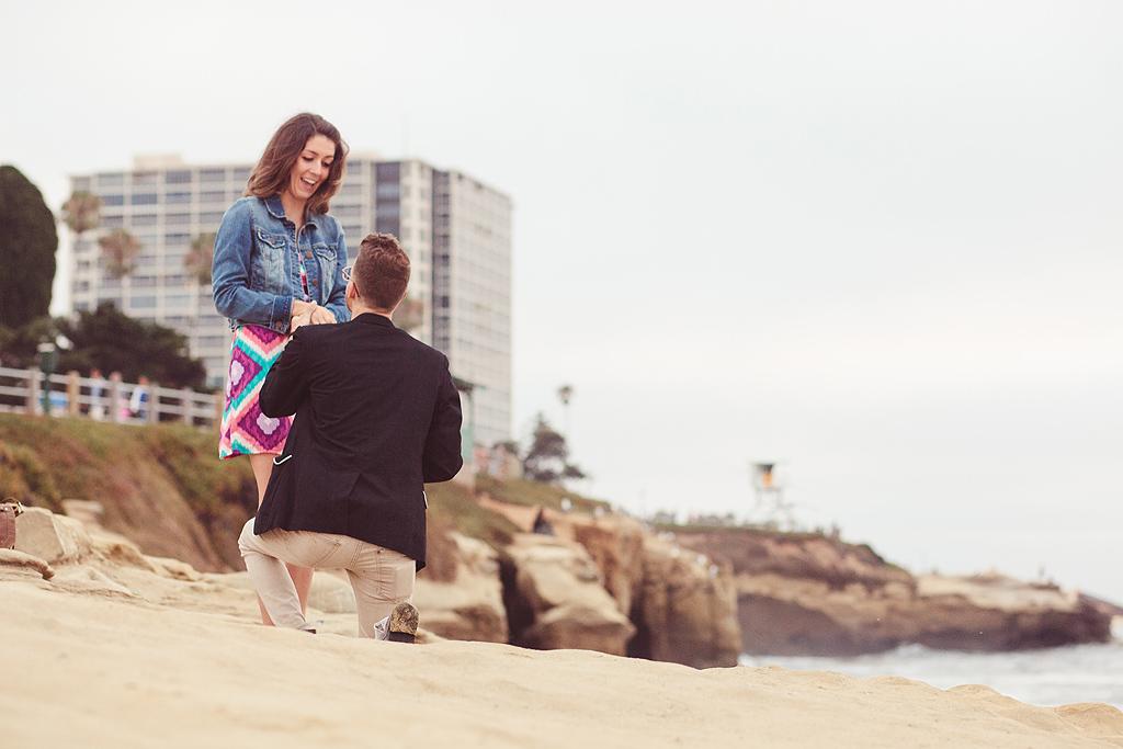 Proposal in La Jolla