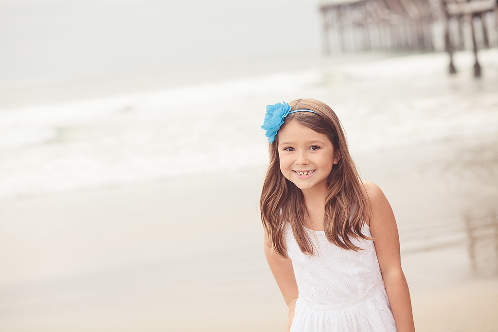 Beach Girl | San Diego Family Photographer
