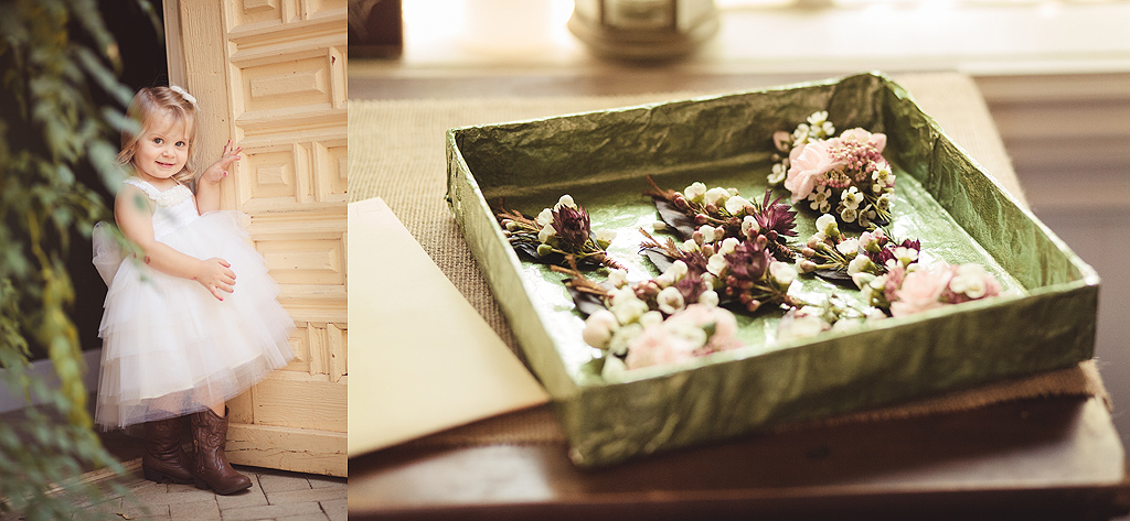 Flower Girl | Rings | Quail Haven Farms Wedding