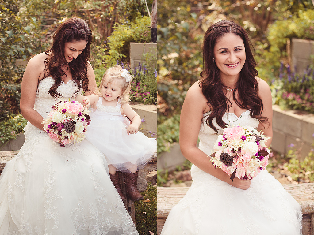 Flower Girl | Quail Haven Farm Wedding