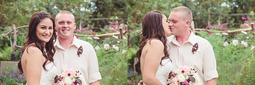 The Bride & Groom | Quail Haven Farms Wedding