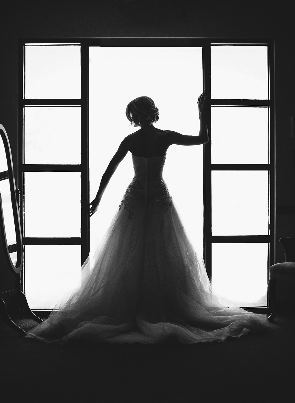 Bridal Silhouette | San Diego Wedding Photographer