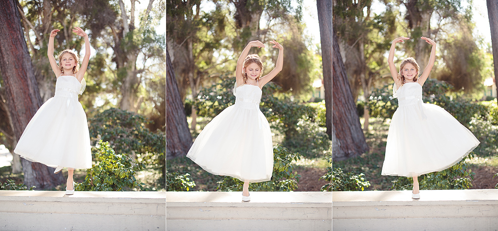Excessive Flower Girl Coverage | San Diego Wedding Photographer