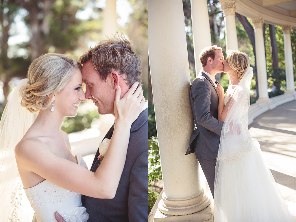 Bride and Groom | San Diego Balboa Park Wedding Photographer