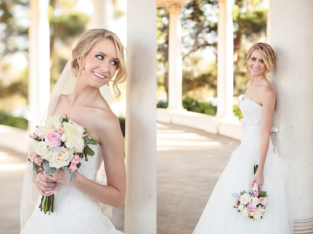 Bridal Photos | San Diego Wedding Photographer | Balboa Park