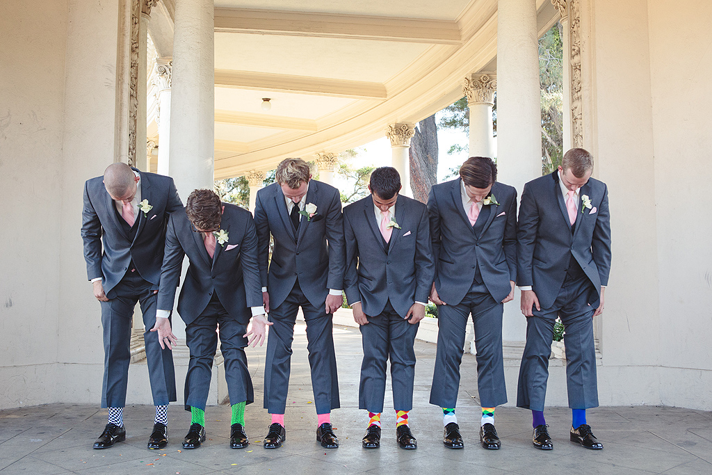 Awesome Socks | Balboa Park Wedding Photographer