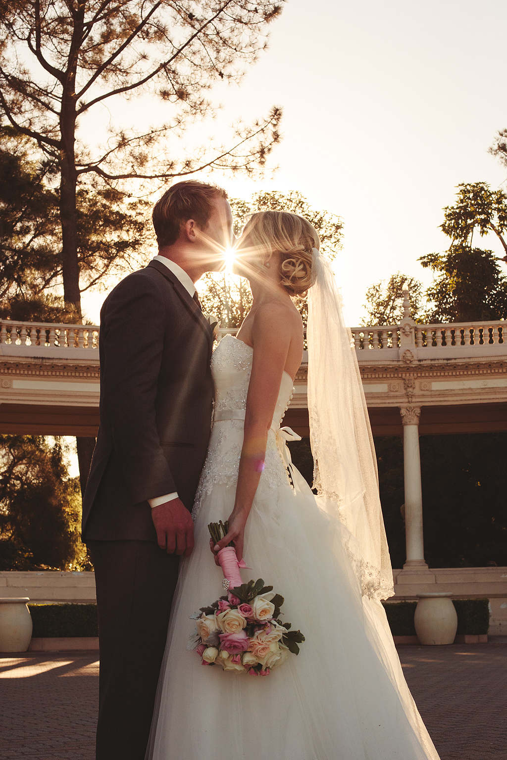 Wedding Silhouette | Balboa Park Photographer San Diego