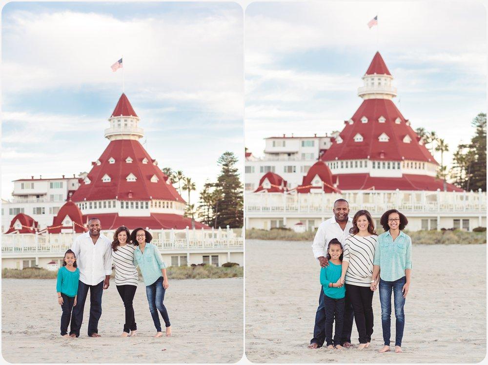 Morning at the Hotel del Coronado   San Diego Beach Photographer