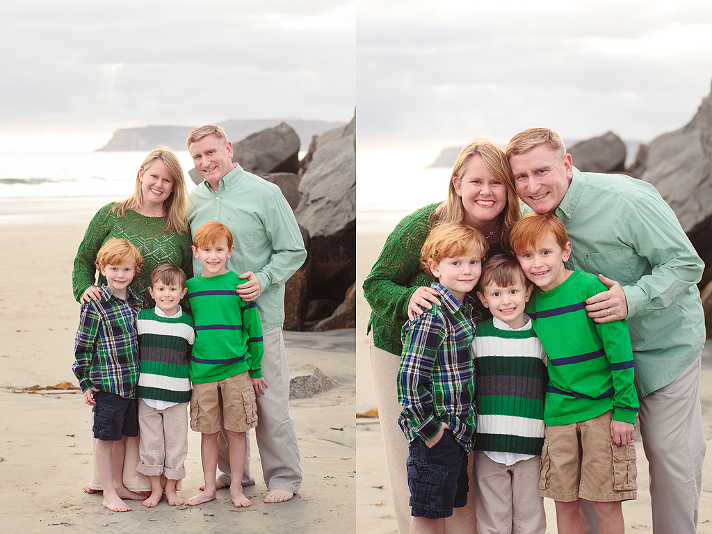 San Diego Family Beach Photographer