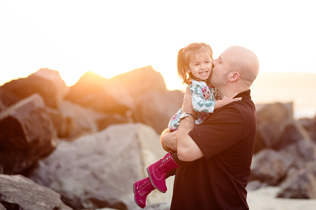 Daddy Love | Coronado Beach Photographer