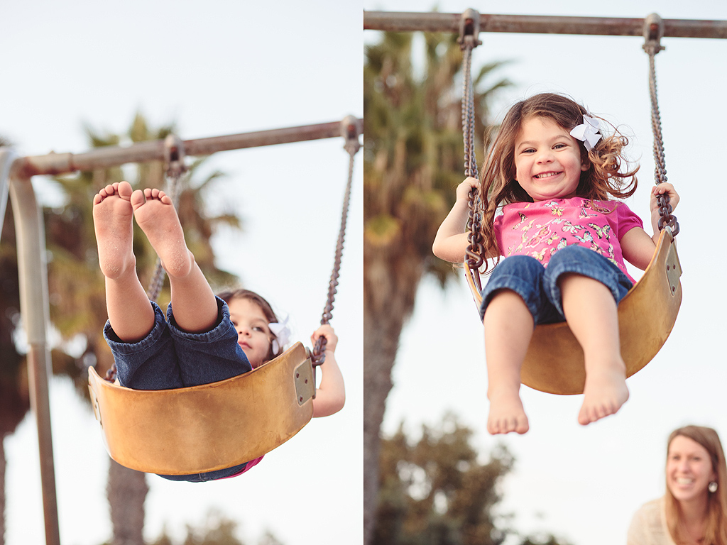 Swingset | San Diego Family Photographer