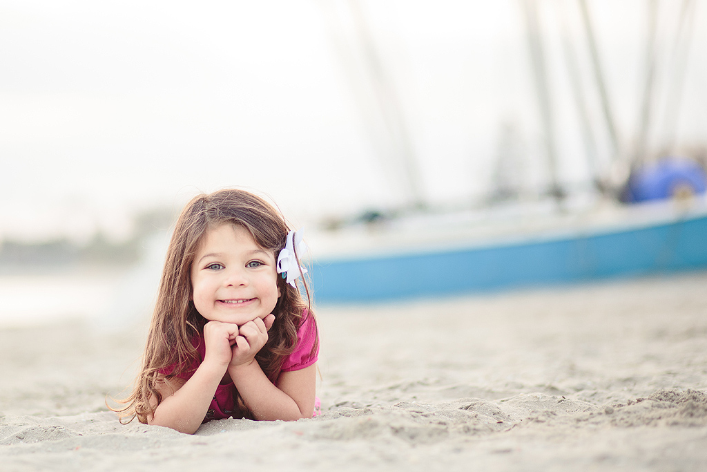 Boats on the Beach | San Diego Beach Photographer