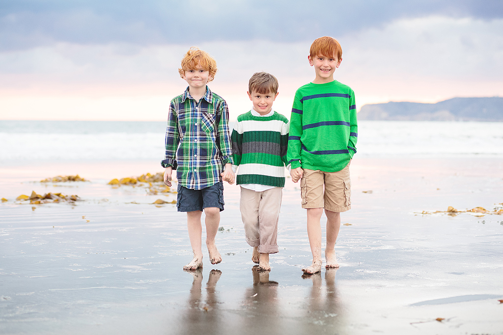 Red Heads at the Del | Coronado Beach Photography