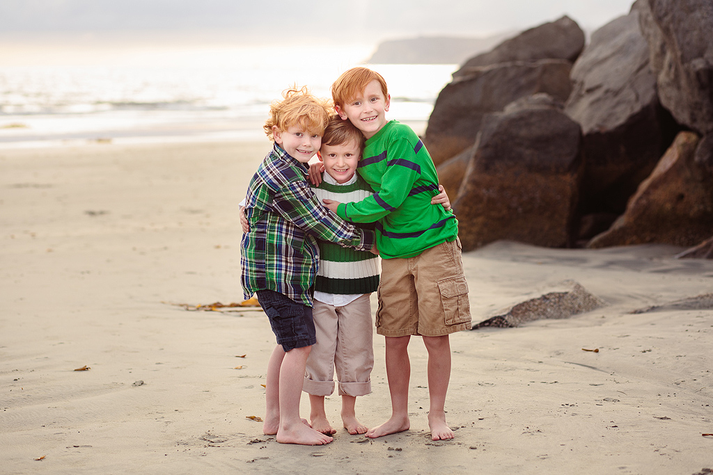 Brothers | San Diego Beach Photographer