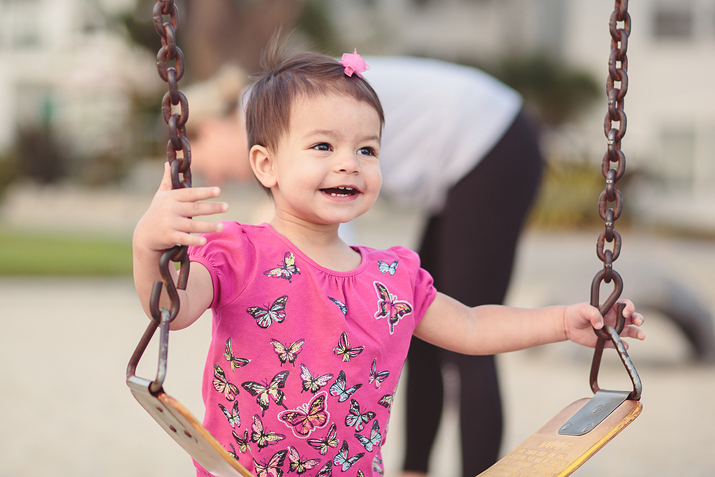 Swings | San Diego Family Photographer