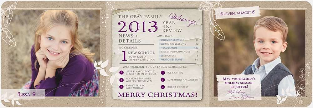 Amy Gray Photography Christmas Card