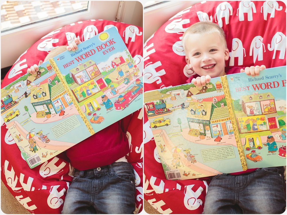 Richard Scarry's Best Word Book Ever | San Diego Lifestyle Photographer
