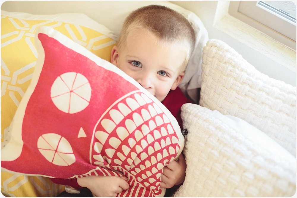 Owl Pillow | San Diego Child Photographer