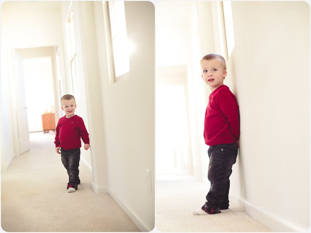 Boy in Hallway | San Diego Lifestyle Photographer
