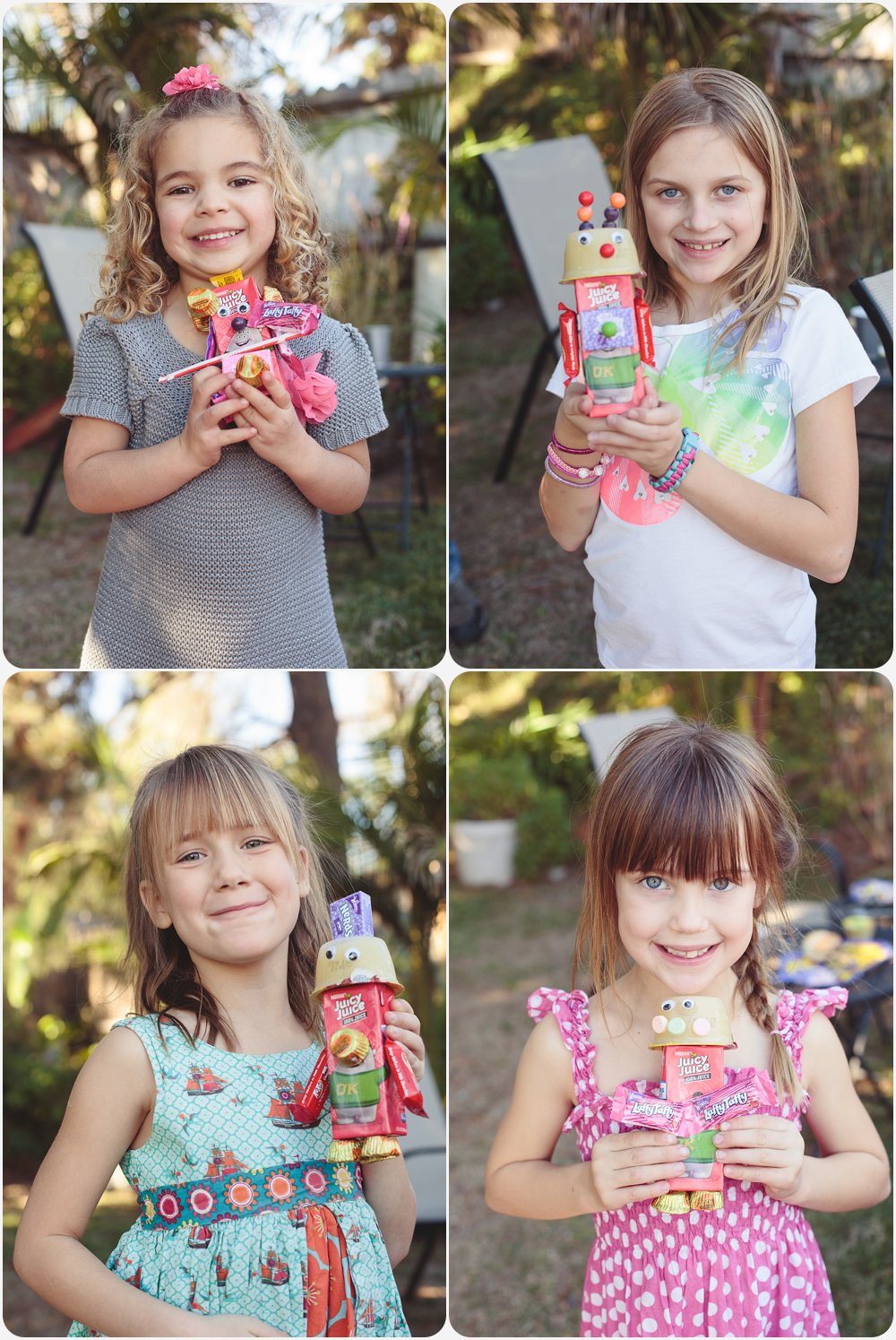 Robot Candy Craft | San Diego Birthday Party Photography