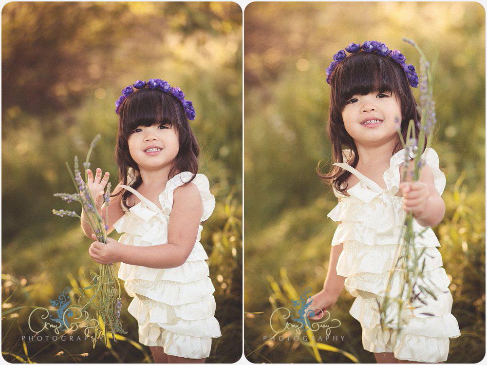 Tea for Three | San Diego Child Photographer