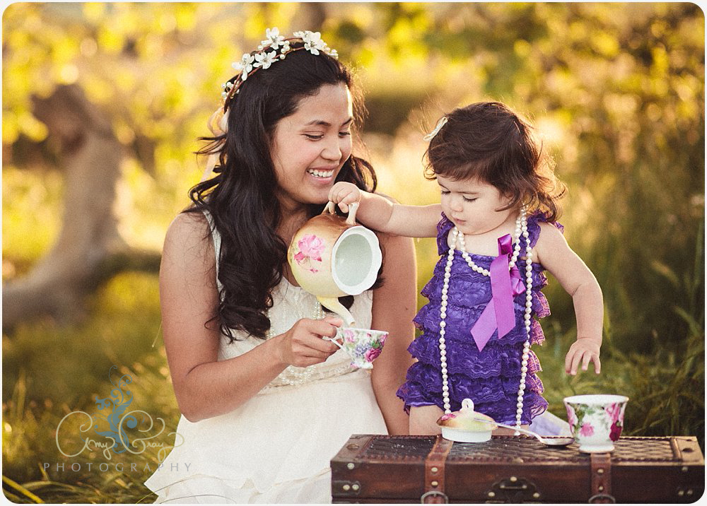 Tea for Three | San Diego Child Photographer