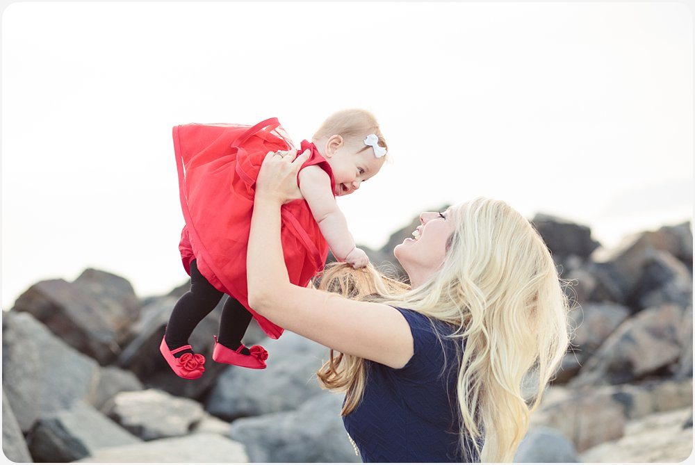 Mother and Daughter| San Diego Beach Photographer